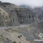 Vista de la carretera desde su arranque en La Cumbre