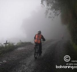 camino de la muerte en bicicleta