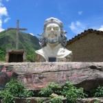 Mítica imagen del guerrillero en Ñancahuazú