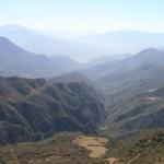 El punto final de la ruta está a 2.160 metros de altura, La Higuera