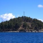Y la más pequeña: Isla Chelleca. Un islote en el estrecho de Yampupata del lago Titicaca