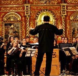 concierto en una de las iglesias jesuitas de la chiquitania - rutaverdebolivia