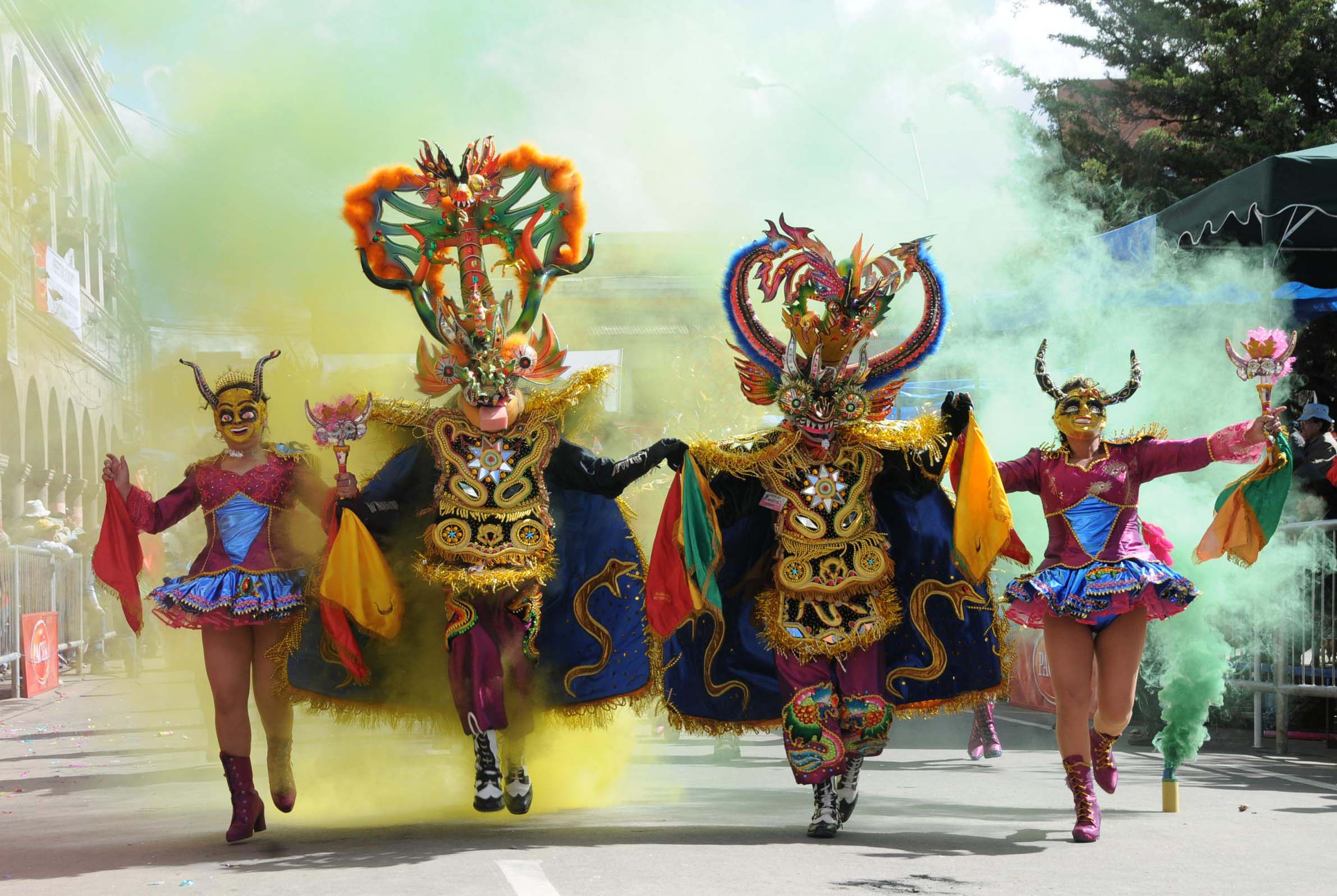 Carnival Of Oruro Bolivianing